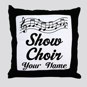Personalized Show Choir Gift Throw Pillow