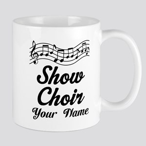 Personalized Show Choir Gift Mugs