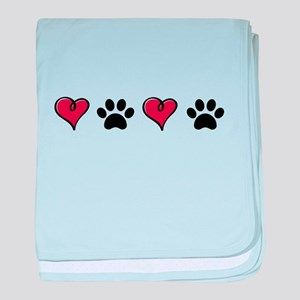 Love Pets baby blanket