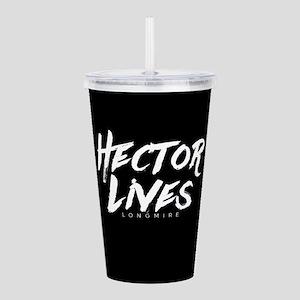 Hector Lives Longmire Acrylic Double-wall Tumbler