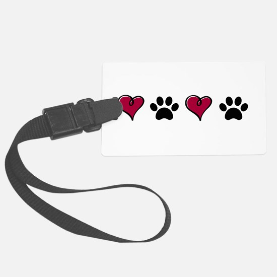 Love Pets Luggage Tag