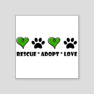 Rescue*Adopt*Love Sticker