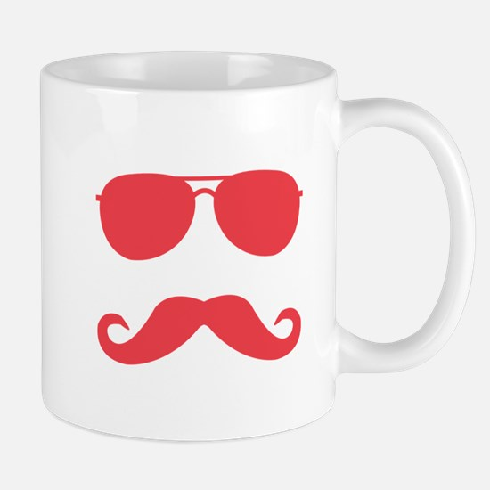 mustache_red Mugs
