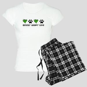 Rescue*Adopt*Love Women's Light Pajamas