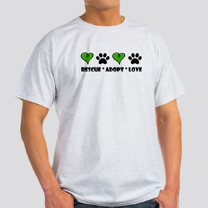 Rescue*Adopt*Love T-Shirt
