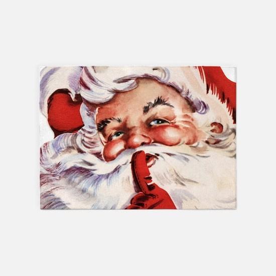 Santa20151105 5'x7'Area Rug
