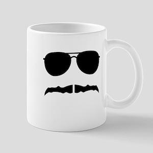 mustache love Mugs