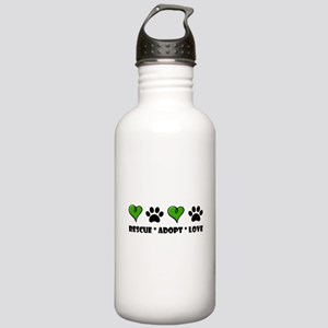 Rescue*Adopt*Love Stainless Water Bottle 1.0L