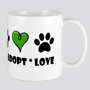Rescue*Adopt*Love Mugs