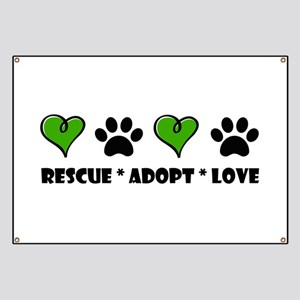 Rescue*Adopt*Love Banner