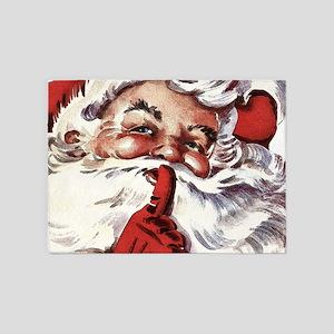 Santa20151107 5'x7'Area Rug
