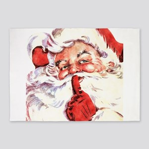 Santa20151106 5'x7'Area Rug