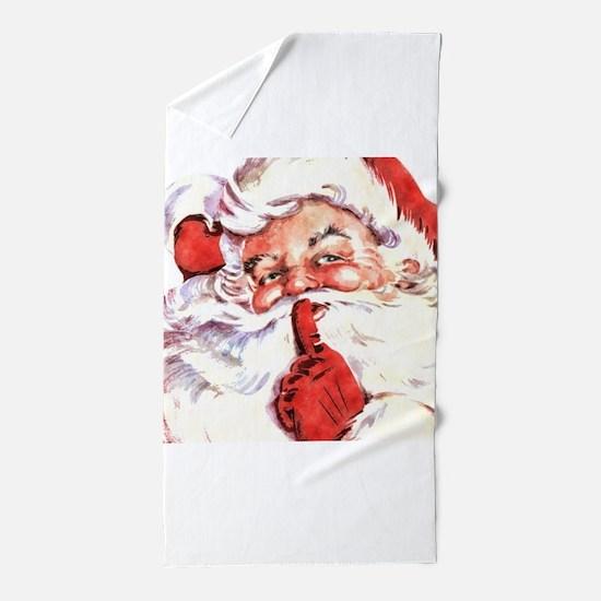 Santa20151106 Beach Towel