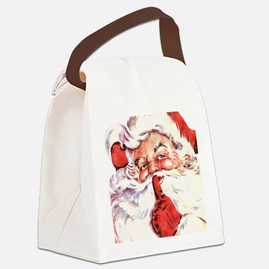 Santa20151106 Canvas Lunch Bag