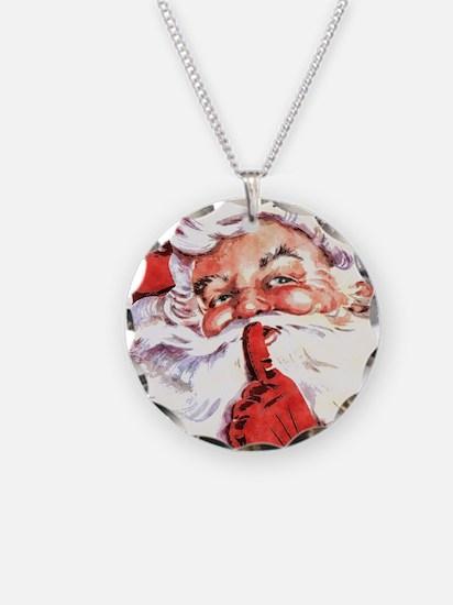 Santa20151106 Necklace Circle Charm