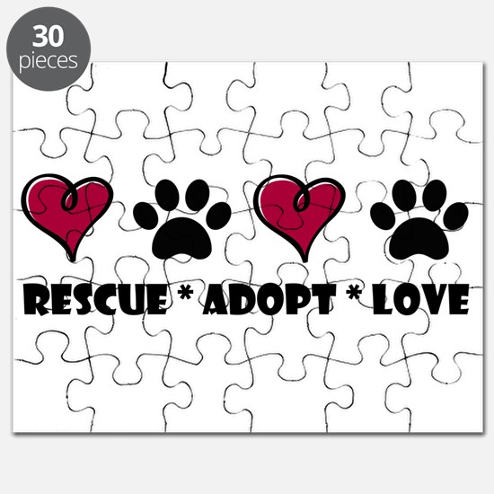 Rescue*Adopt*Love Puzzle