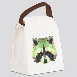 Racoon Canvas Lunch Bag