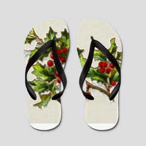 HollyBerries20150808 Flip Flops