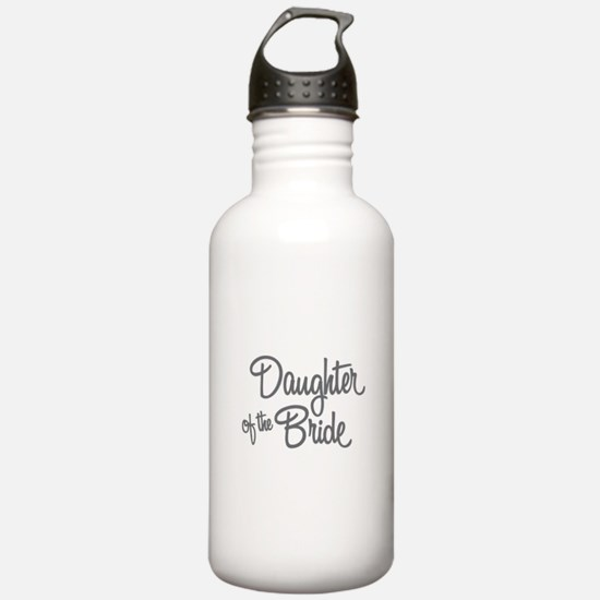 Daughter of the Bride Water Bottle