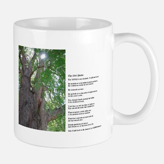 23rd Psalm Peace And Hope Of David Mugs
