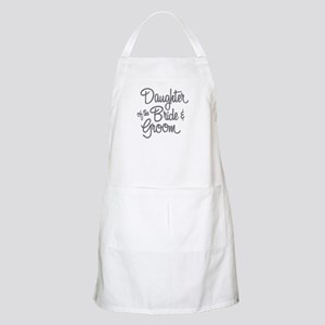 Daughter of the Bride & Groom Apron