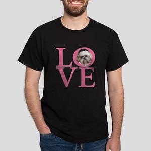 Shih Tzu Love - Dark T-Shirt