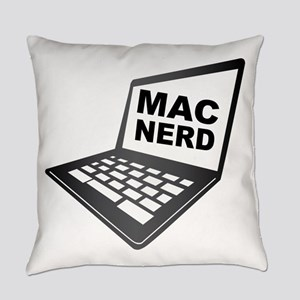 Mac Nerd Everyday Pillow