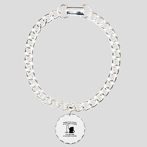 Vacuum Cleaner Charm Bracelet, One Charm
