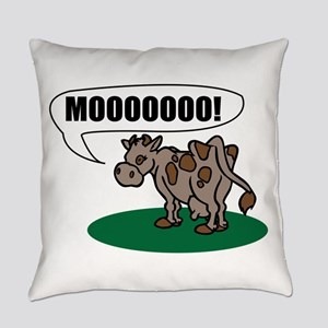 Moooo! Everyday Pillow