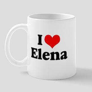 I Heart Elena Mug
