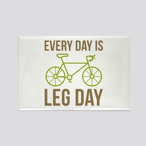 Every Day Is Leg Day Rectangle Magnet