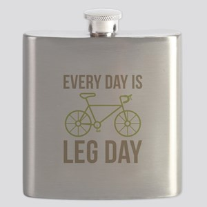 Every Day Is Leg Day Flask