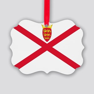 Jersey Picture Ornament