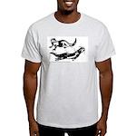 Oriental Small Clawed Otter Ash Grey T-Shirt