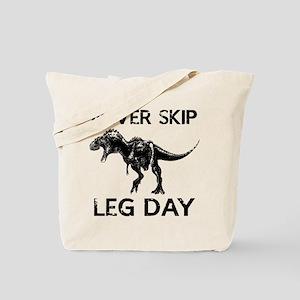 Never Skip Leg Day Tote Bag