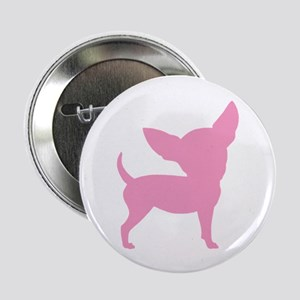 Pink Funny Cute Chihuahua Button
