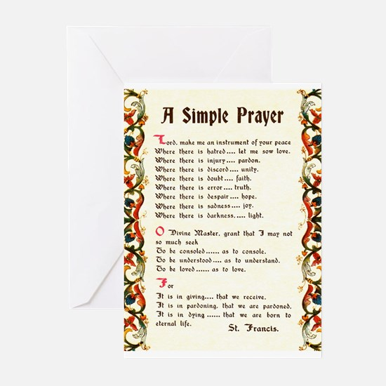 Unique St francis Greeting Cards (Pk of 10)
