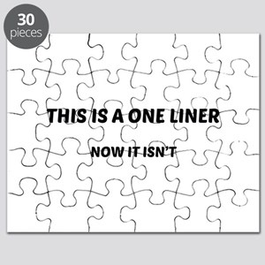 This Is A One Liner Puzzle