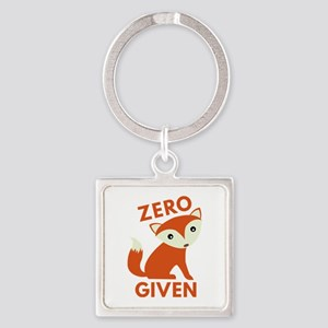 Zero Fox Given Square Keychain