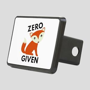 Zero Fox Given Rectangular Hitch Cover
