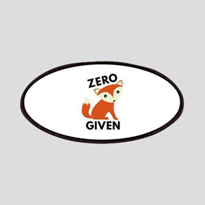 Zero Fox Given Patches