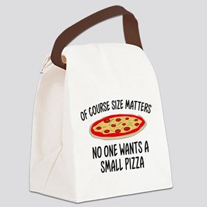 Of Course Size Matters Canvas Lunch Bag