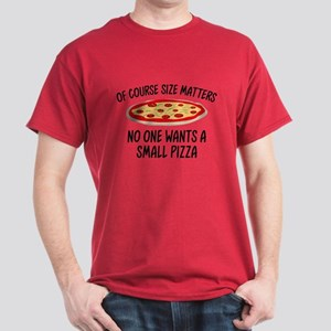 Of Course Size Matters Dark T-Shirt