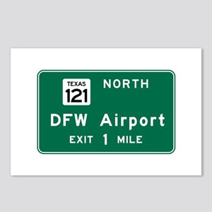 DFW Airport, Dallas-Fort Postcards (Package of 8)