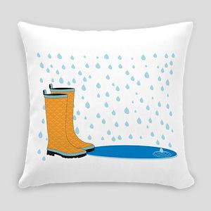 Rainboots Everyday Pillow