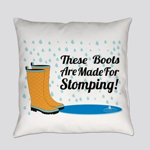 These Boots Are Made For Stomping! Everyday Pillow