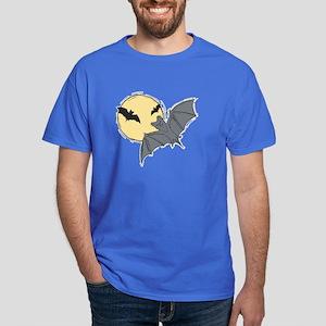 Bats and Moon Dark T-Shirt