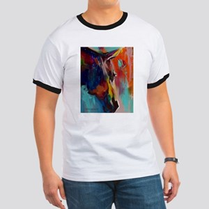 Graffiti This, Horse Abstract Pop Art Pain T-Shirt