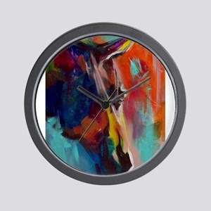 Graffiti This, Horse Abstract Pop Art P Wall Clock