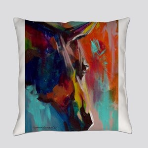 Graffiti This, Horse Abstract Pop Everyday Pillow